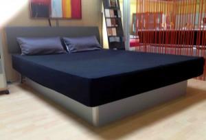 Softside-Wasserbett Comfort mit Lecco Lehne
