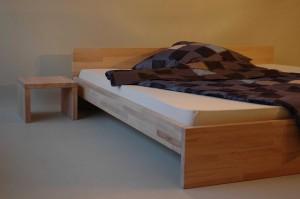 Bettrahmen PLAN A mit Split-Einbau-Wasserbett